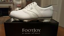 2015 Footjoy Dryjoys Tour Mens Golf Shoes 53673 NEW Wh 10.0M $249  Mint!