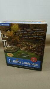 3D Home Landscape Designer Deluxe 5 Borderbund Windows 2000 Xp/me/xp sp1 OpenBox