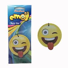 Emoji emociones Crazy Face Car Home ambientador Freshner-Coche Nuevo Aroma