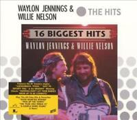 WAYLON JENNINGS - 16 BIGGEST HITS: WAYLON JENNINGS & WILLIE NELSON NEW CD