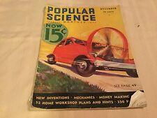 Popular Science Magazine December 1932