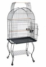 "New 24"" Wide Open Play Dome Top Bird Parrot Cockatiel Caique Conure Cage 367"