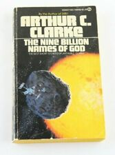 Arthur C. Clark The Nine Billion Names Of God PB Book 1st Printing 1974