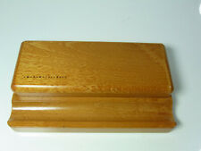 NOS German MARTINI Writing instruments storage out of wood for up to 3 pens #3