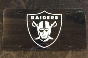Oakland Raiders License Tag