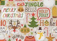 A1 Merry Christmas Santa Snowman Poster Art Print 60 x 90cm 180gsm Gift #15451