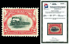 Scott 295 1901 2c Pan-American Issue Mint VF OG NH Cat $37.50 with PSE CERT
