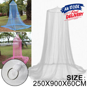 OZ Bed Curtain Mosquito Canopy Dome Stopping Queen Double Single Insect Net