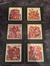 Pimpernel Coasters Set Of 6 Boxed