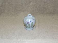 Buchan Portobello Scotland Thistleware Stoneware Jelly Sugar Jar with lid