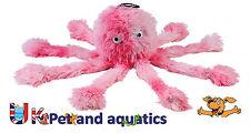 Gor Pets Dog Toy, Gor Reef Octopus Baby Crinkles Scrumples Honks & Squeaks 25cm
