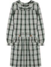A.p.c. Woman Checked Cotton-blend Mini Dress Off-white Size 36 A.P.C. y7rBsrpDFD