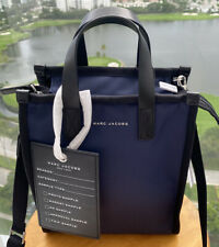 MARC JACOBS Retake Mini Nylon Tote Bag with Logo Big Tag M0014426-421 $275