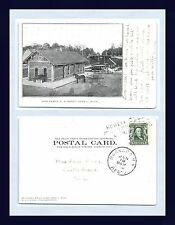 MICHIGAN HOWELL ANN ARBOR DEPOT CIRCA 1906 TO MRS SAM DARY SOUTH GREECE NEW YORK