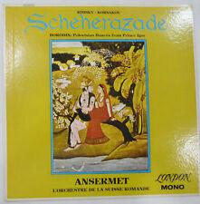 ANSERMET, SCHEHERAZADE UK LONDON CM 9281 Vinyl LP