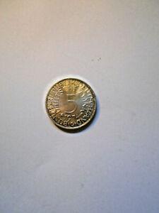 5 DM Silber-Kursmünze BRD von 1974 G