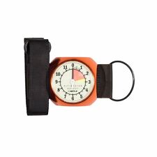 Alti-2 Altimaster III Galaxy Analog Skydiving Altimeter Glow Face Feet (Orange)