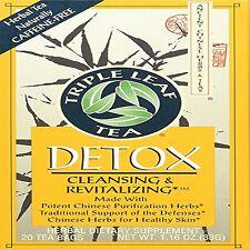 Detox Tea Total Cleans Chinese Medicinal Leaf Herbs Weight Loss Diet 20 Tea Bags