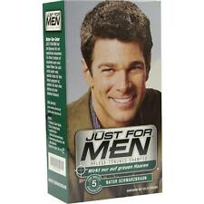 JUST for men Tönungsshampoo schwarzbraun 60ml PZN 1465439