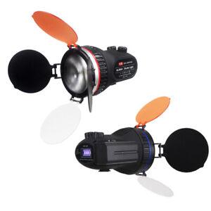 LED Video Light HL-300A LED On Camera Light Spotlight Support AC Power F960/970