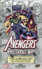 Marvel Avengers Kree-Skrull War Factory Sealed Trading Card Hobby Box