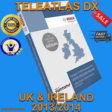TELEATLAS DX 2014 FOR MERCEDES COMAND 2.0 SAT NAV DISC UK NAVIGATION CD MFD1