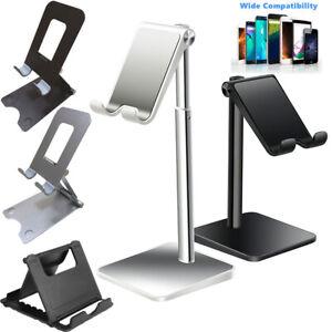 Universal Cell Phone Tablet Desktop Stand Desk Holder Mount Cradle Bracket US