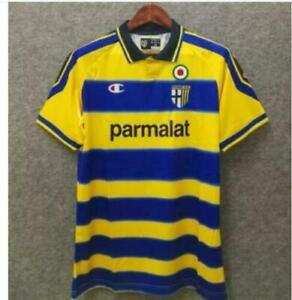 Fußball Trikot Jersey Parma 99-00 Vintage Retro Shirt Home Away