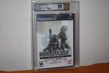Metal Gear Solid 2: Substance (Playstation 2 PS2) NEW SEALED MINT GOLD VGA 90!