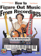 How to Figure Out Music From Recordings Dan Huckabee (DVD, 2004) Instruction