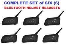 BTI V6 Bluetooth Helmet Headset (6) -Cell, GPS, Intercom (6 riders, 3280 ft)