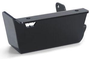 Warn Steering Box Skid Plate For 97-06 Jeep Wrangler TJ 64250 Black