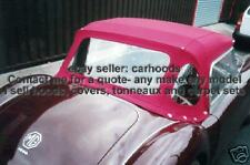 MG MGA/ MGB/ MGC New Mohair Canvas Car Hood Soft Rag Top Roof - NEW