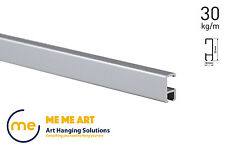 2 metres Art Hanging Track Click Picture Hanging Rail Art Hanging Gallery System