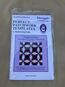 Perfect Patchwork Templates - Pineapple