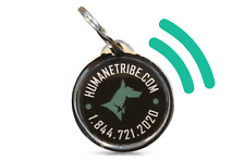 Humane Tribe Pet Locator Tag - Real-Time Text SMS Alerts   Email Notifications