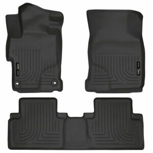 Husky Liners 99441 Front & 2nd Seat Floor Liners 2014-2015 Honda Civic
