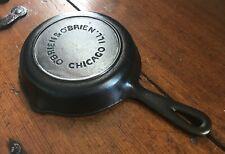 O'Brien & O'Brien, Chicago, IL #3 Cast Iron Skillet - Vintage - Restored