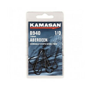Kamasan B940 Aberdeen Long Shank Sea Fishing Hooks - All Sizes