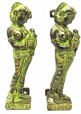 Blessing Woman Design Handmade Antique Vintage Style Brass Door Handle, Pull