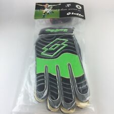 Lotto Green And Black Goalkeeper soccer glove size 11