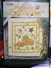 WELCOME THE SEASONS SEWING PATTERNS QUILTING LEISURE ARTS 3634 DAISIES GARDEN