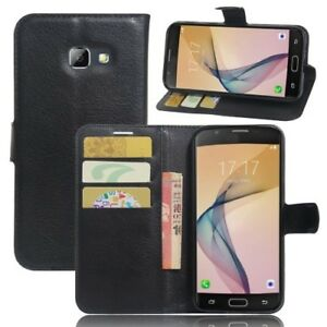 Premium PU Leather Wallet Book Flip Pouch Case Cover For Samsung Galaxy A5 2017
