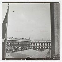 Italia Venezia Place Chiamato c1930 Foto Placca Da Lente Stereo Vintage VR16L2