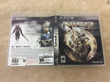 Nier (Sony PlayStation 3, 2010) Complete! Tested! Works!