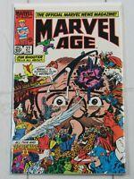 Marvel Age #27 1985 Marvel comics