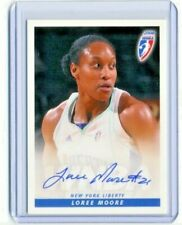 Loree Moore 2008 WNBA Rittenhouse Archives Certified On Card Autograph Auto