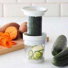 ❤Paderno World Cuisine Two(2) Blade Handheld Turning Vegetable Slicer/Spiralizer