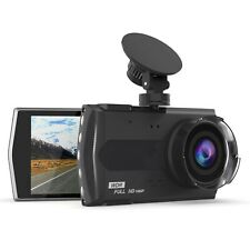 """Dash Cam 1080P FHD DVR Car Driving Recorder 3"""" LCD Screen 170°Wide Angle, G-S..."""