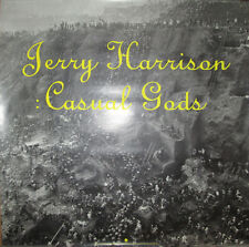 Jerry Harrison Casual Gods, Sire promo poster, 1988, 23x23, Ex, Talking Heads